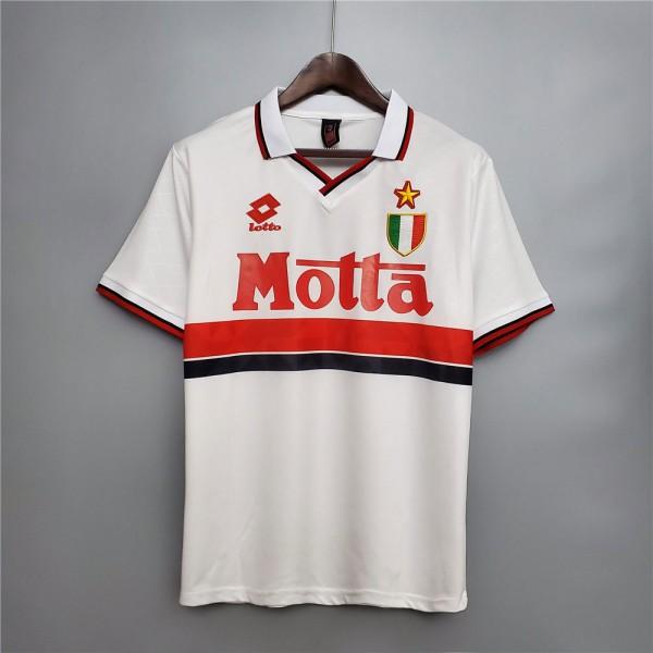 AC Milan 1993 1994 Away Football Shirt