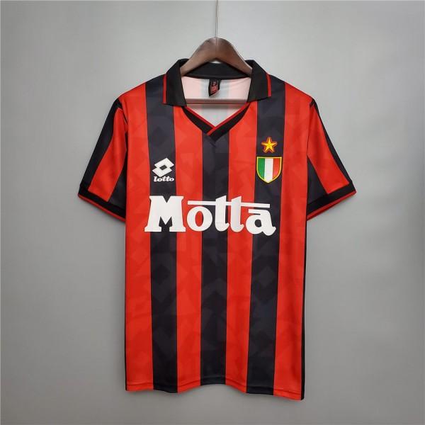 AC Milan 1993 1994 Home Football Shirt