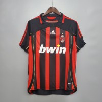 AC Milan 2006 2007 Home Football Shirt