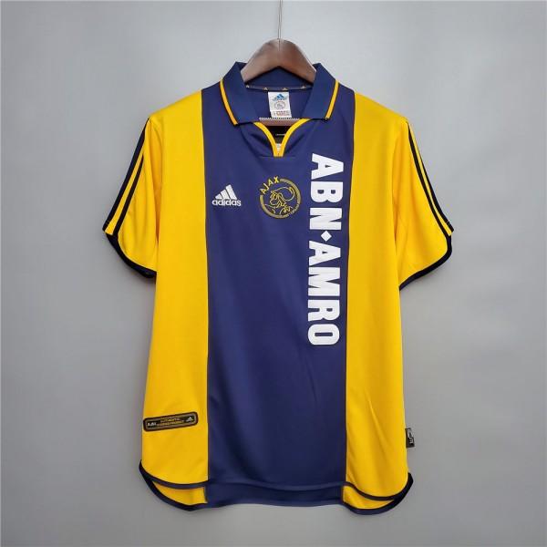 Ajax 2000 2001 Away Football Shirt