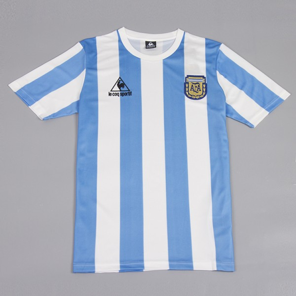 Argentina 1986 Home Football Shirt