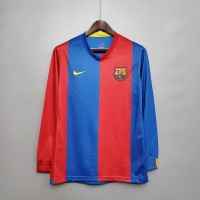 Barcelona 2006-2007 Home Football Shirt Long Sleeve