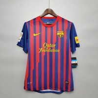 Barcelona 2011-2012 Home Player Issue Football Shirt
