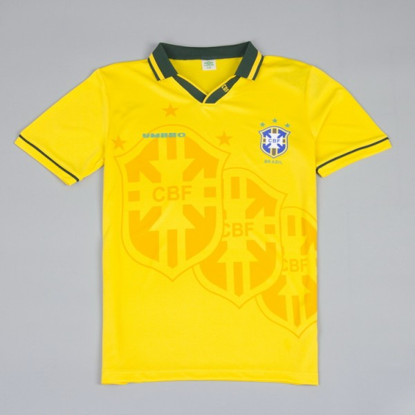 Brazil 1994 Home Football Shirt