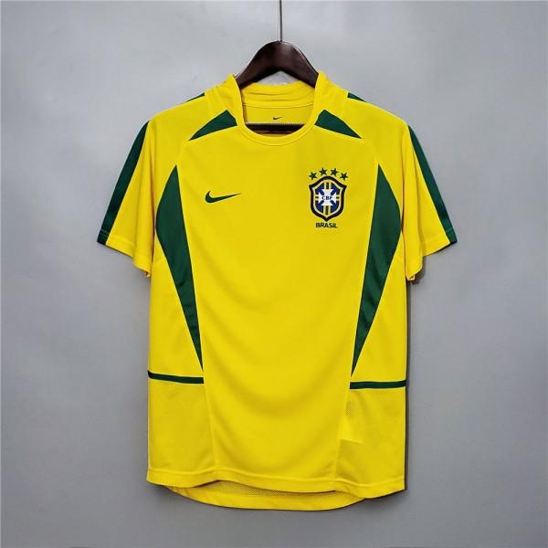 Brazil 2002 Home Football Shirt