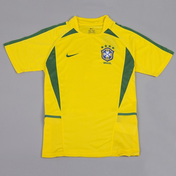 Brazil 2002 Home Football Shirt