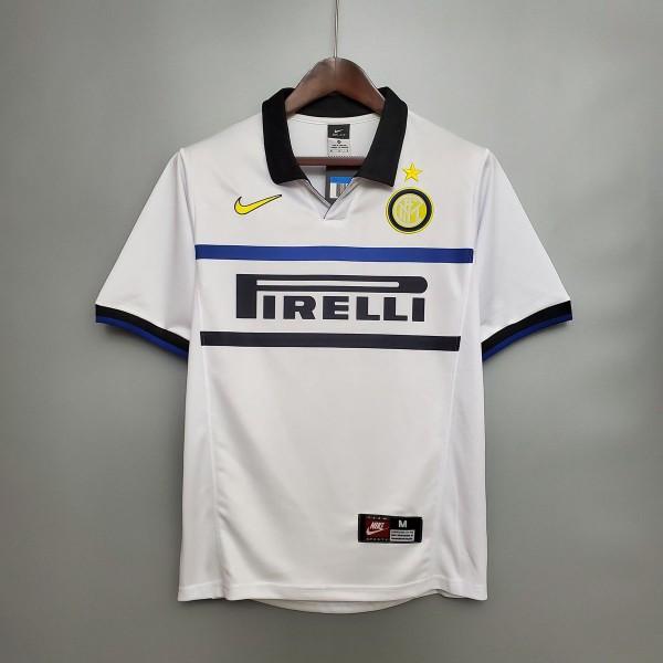 Inter Milan 1998 1999 Away Football Shirt
