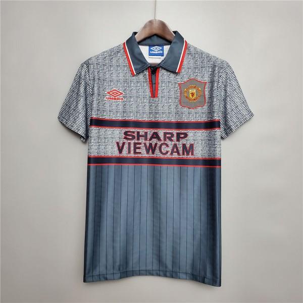 Manchester United 1995 1996 Away Football Shirt