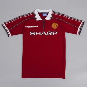 Manchester United 1998-1999 Home Football Shirt