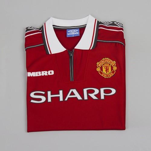 buy online eba61 dae47 Manchester United 1998-1999 Home Football Shirt