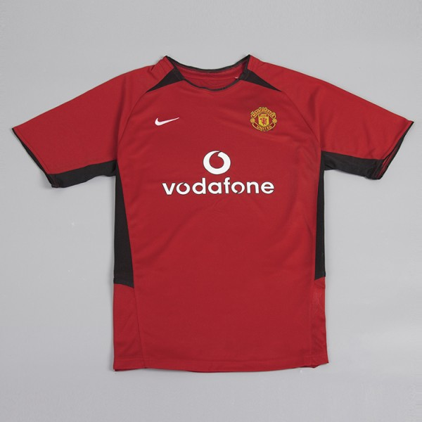 Manchester United 2002-2003 Home Football Shirt