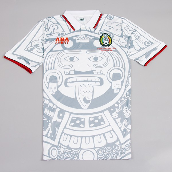 Mexico 1998 Away Football Shirt