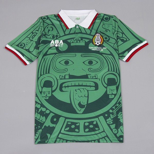 Mexico 1998 Home Football Shirt