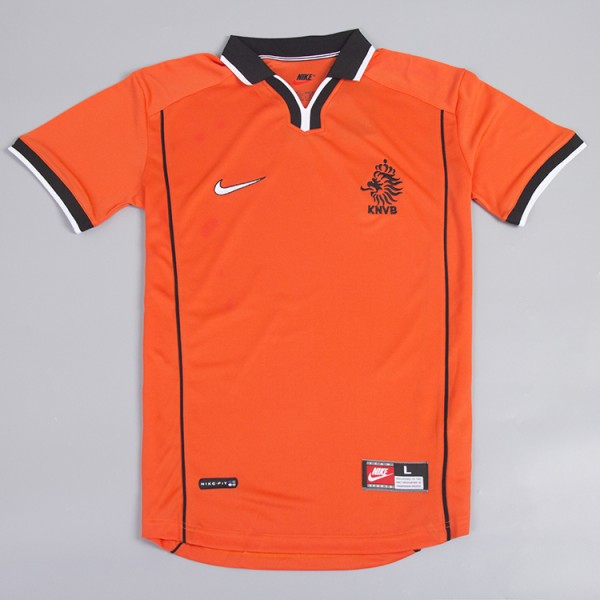 Holland 1998 Home Football Shirt