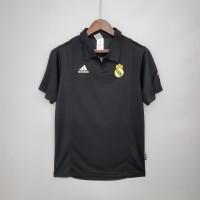 Real Madrid 2002 2003 Champions League Away Football Shirt