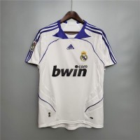 Real Madrid 2007 2008 Home Football Shirt