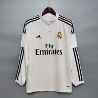 Real Madrid 2014 2015 Home Football Shirt Long Sleeve