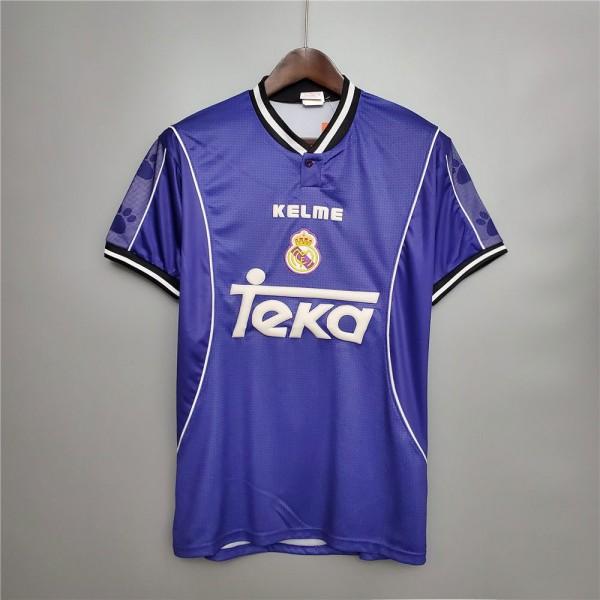 Real Madrid 1997 1998 Away Football Shirt