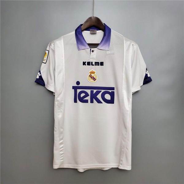 Real Madrid 1997 1998 Home Football Shirt