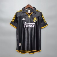 Real Madrid 1998 1999 Away Football Shirt