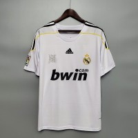 Real Madrid 2009 2010 Home Football Shirt