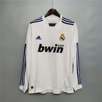 Real Madrid 2010 2011 Home Football Shirt Long Sleeve