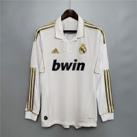 Real Madrid 2011 2012 Home Football Shirt Long Sleeve