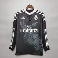 Real Madrid 2014-2015 Third Football Shirt Long Sleeve
