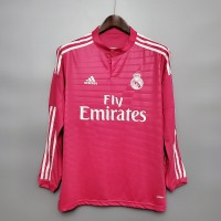 Real Madrid 2014-2015 Away Football Shirt Long Sleeve